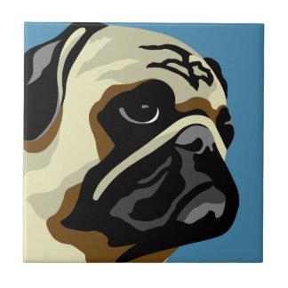 Pug Gifts Tile