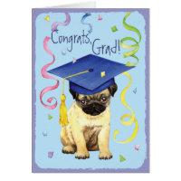 Pug Graduate Card