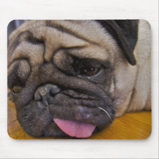 Pug Had One Too Many Mouse Pad