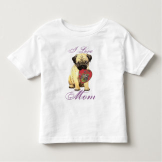 Pug Heart Mom Tees