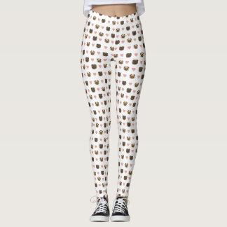 pug heart pants! leggings