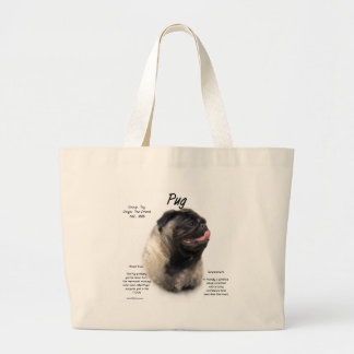 Pug History Design Bags