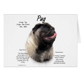 Pug History Design Card