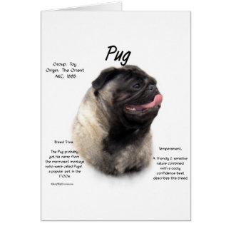 Pug History Design Cards