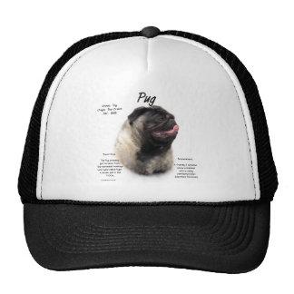 Pug History Design Mesh Hats