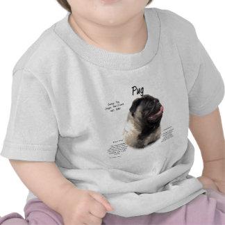 Pug History Design Shirt