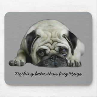 Pug Hugs Mousepad