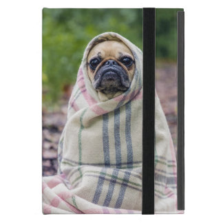 Pug in a Blanket Case For iPad Mini