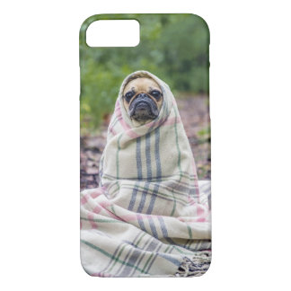 Pug in a Blanket iPhone 8/7 Case