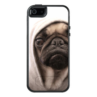 Pug In A Hoodie OtterBox iPhone 5/5s/SE Case