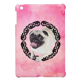 Pug in frame case for the iPad mini