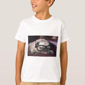 Pug In Glasses T-Shirt