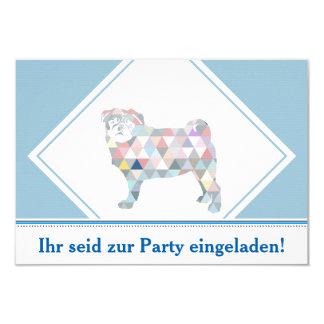 Pug invitations