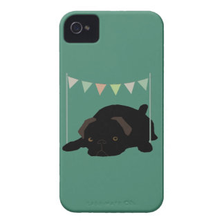 Pug iPhone 4 Case-Mate Case