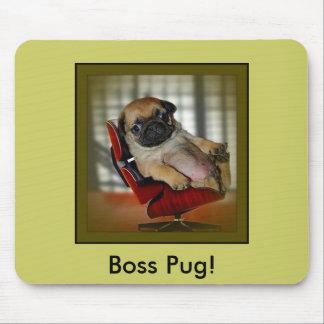 Pug it! mouse mat