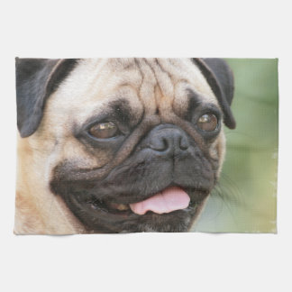 Pug Kitchen Towel