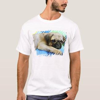 Pug laying on pillows T-Shirt