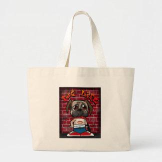 Pug Life Canvas Bag