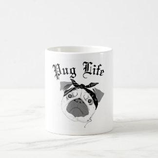 Pug Life! Basic White Mug