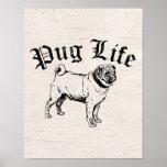 Pug Life Funny Dog Gangster