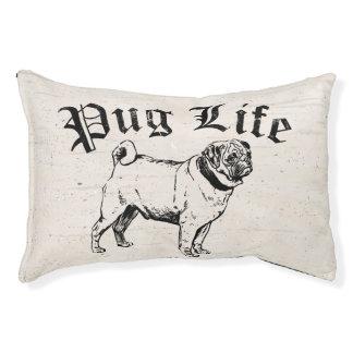Pug Life Funny Dog Gangster Pet Bed