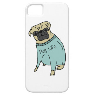 Pug Life - Funny Dog In A Sweater Case For The iPhone 5