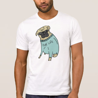 Pug Life - Funny Dog In A Sweater Tee Shirts