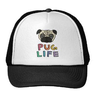 Pug life mesh hats