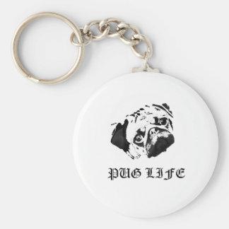 Pug Life Key Chain