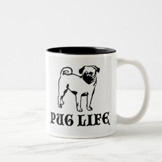 Pug Life Mug by nicola