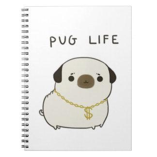Pug Life Note Books