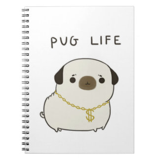 Pug Life Notebooks