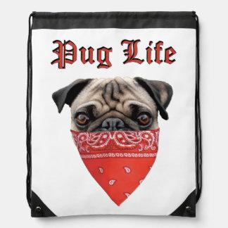 Pug Life Cinch Bag