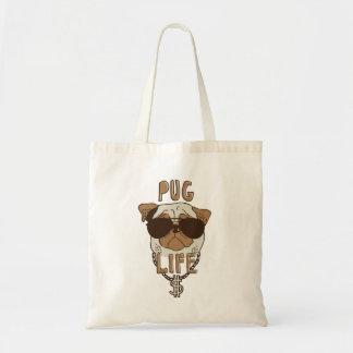 Pug Life Budget Tote Bag