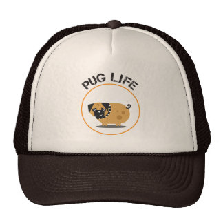 Pug Life Trucker Hat