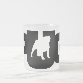 Pug Logo - Frozen 10 oz crystal Cup grinding