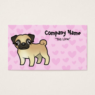 Pug Love Business Card