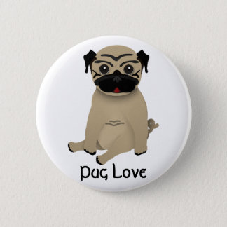 Pug Love button