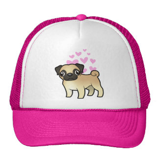 Pug Love Cap