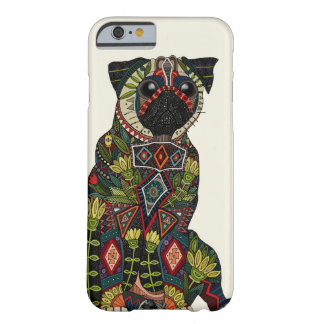 pug love ivory barely there iPhone 6 case
