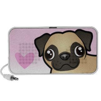 Pug Love Mini Speakers