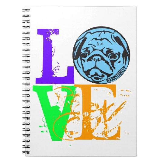 PUG LOVE Notebook