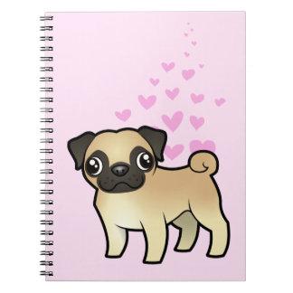 Pug Love Notebooks