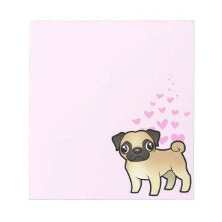 Pug Love Notepads