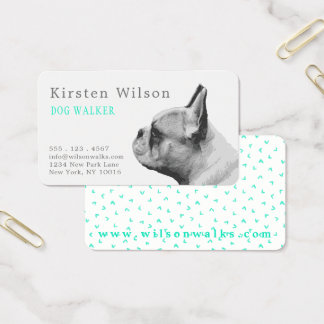 Pug Love | Personalized Business Card