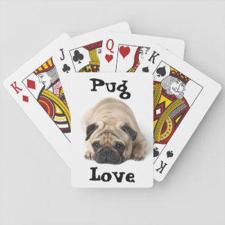 Pug Love Playing Cards
