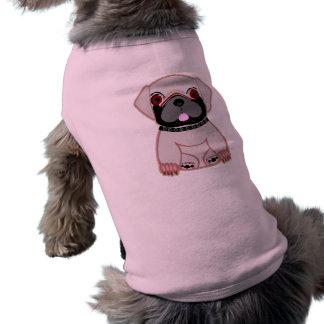 Pug Love! Sleeveless Dog Shirt