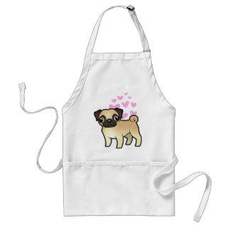 Pug Love Standard Apron