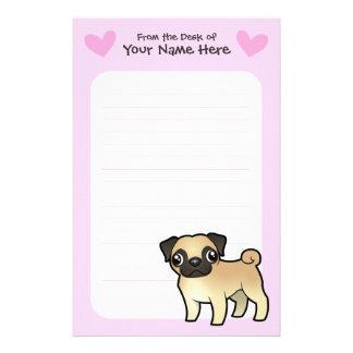 Pug Love Stationery