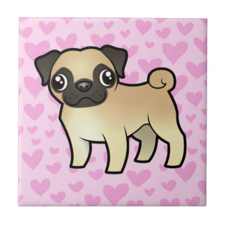 Pug Love Tile